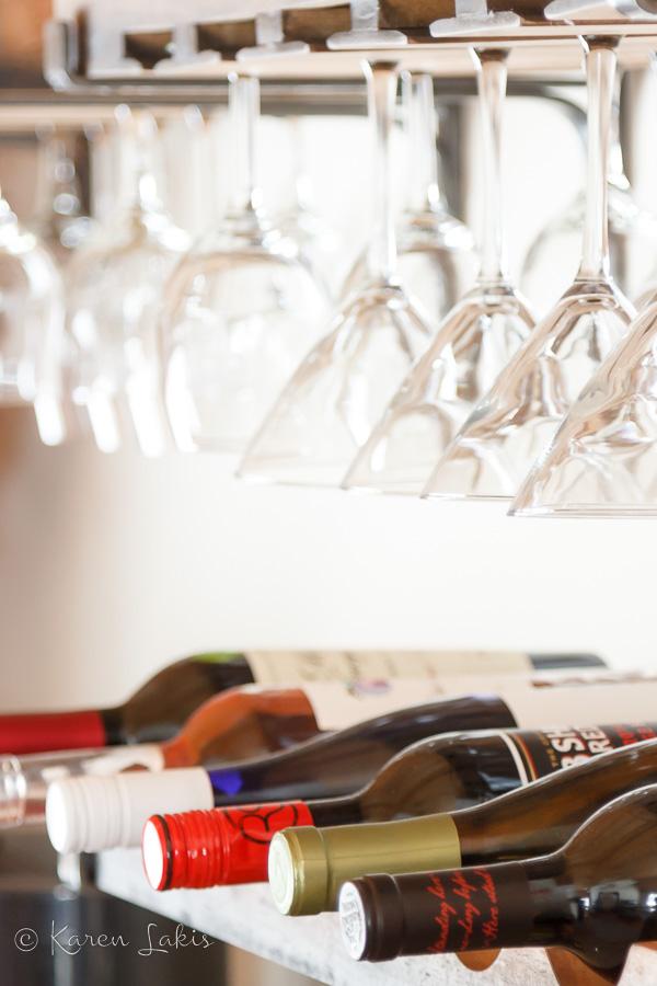 Ballard Design Vigneto Wine Shelf