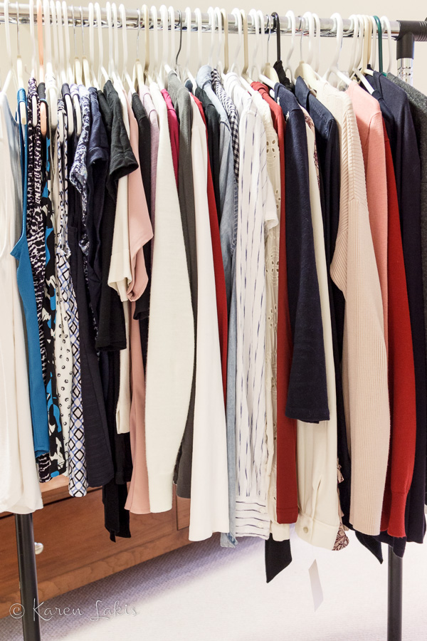 sorted clothes
