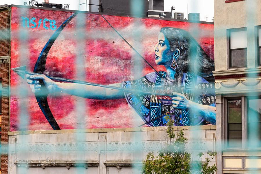 Artist date – mural walk