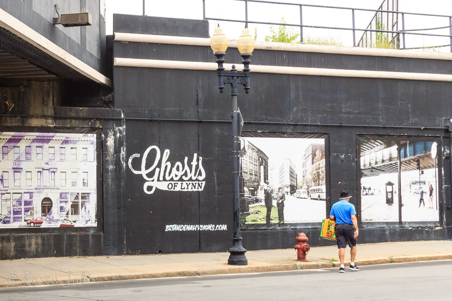 Ghosts of Lynn mural