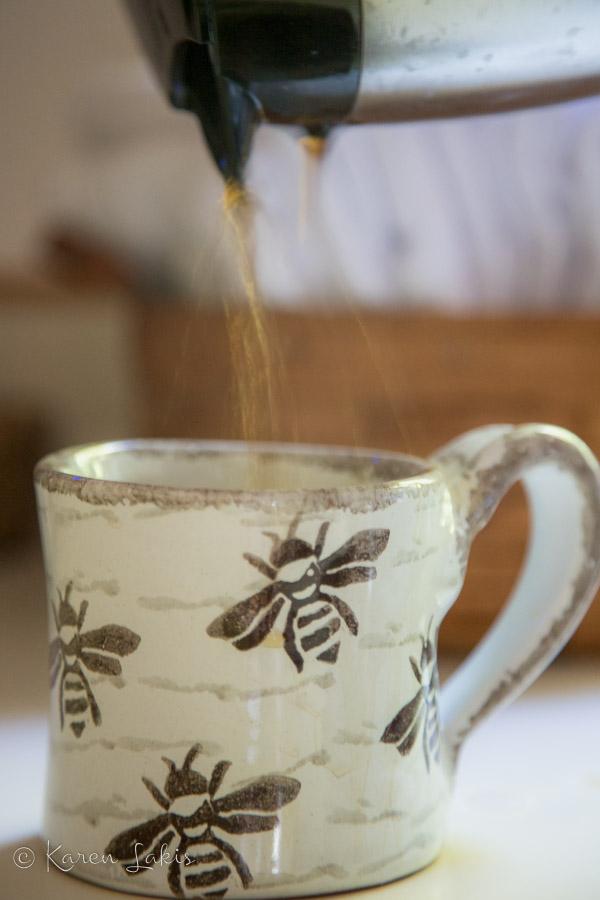 coffee splatter