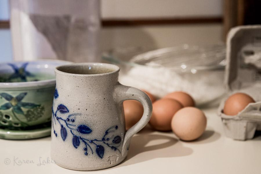 coffee and breakfast ingredients