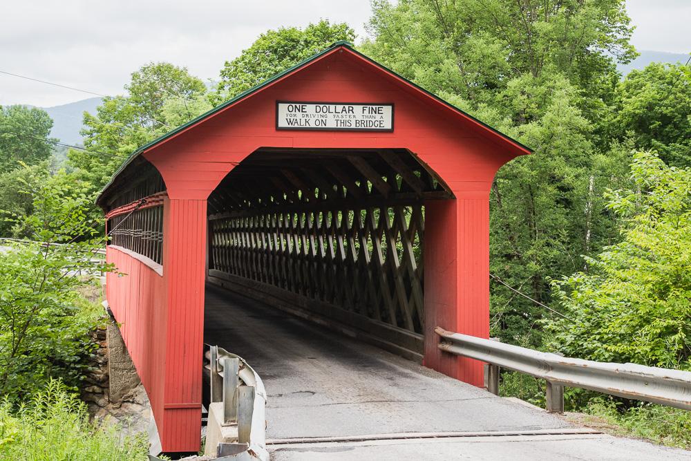 Covered bridge - key scene